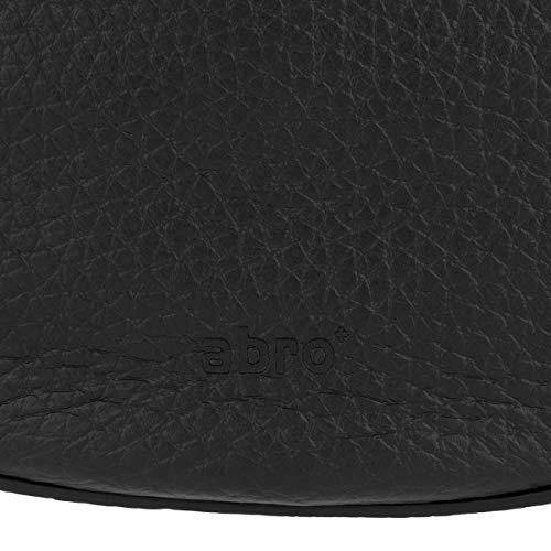 Abro Leather Size Black Body Cross Bag Womens One UwgxrUfBnq