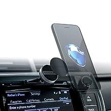 Satechi Universal Smartphone CD Slot Mount for iPhone 7 Plus, 7, 6 Plus, 6s, 6, SE, 5S, 5C, 5, 4S / Samsung Galaxy S5, Note 3, Nexus 5, S, HTC One X, S, Motorola Droid Razr HD, Maxx, Nokia Lumia 920 (Smartphone Magnet)