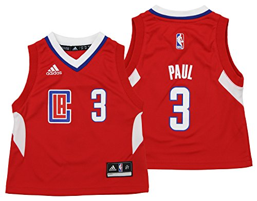 NBA Los Angeles Clippers Toddler Away Replica Jersey, Paul C # 03, 3T