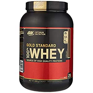 Optimum Nutrition Gold Standard Whey Protein Powder Muscle Building Supplements With Glutamine and Amino Acids, Double…