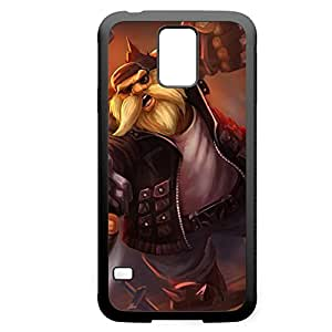Gragas-003 League of Legends LoL For Case Samsung Galaxy S5 Cover - Hard Black