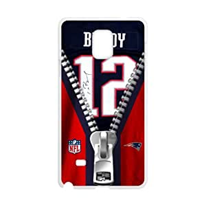 EROYI NFL New England Patriots Tom Brady Jerseys Cell Phone Case for Samsung Galaxy Note4