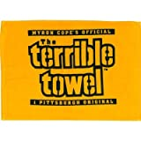 Steelers Terrible Towel - Yellow (Ships Within 24 Hrs - Excluding Weekends & Holidays)