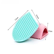 DZT1968® Silicone Gel Makeup Washing Brush Cleaner Egg Scrubber Tool