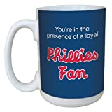 Tree-Free Greetings lm44097 Phillies Baseball Fan Ceramic Mug with Full-Sized Handle, 15-Ounce