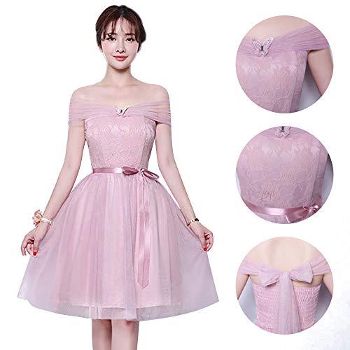 D'onore Da Dazisen Damigella DonnaFormale Festa 5 Nozze Vestito Sera Disponibili Abito Stili Per Rosa 1 Elegante Ny0m8nvwO