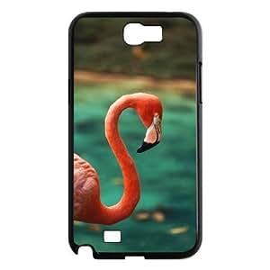 lintao diy case Of Flamingos Customized Bumper Plastic Hard Case For Samsung Galaxy Note 2 N7100
