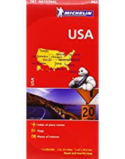 Michelin USA Road Map 761