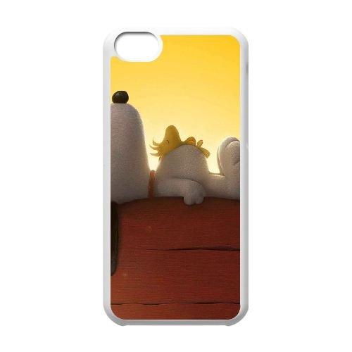K3A56 arachides film cas de téléphone S8W1EX coque iPhone 5c cellulaire couvercle coque blanche FX0PDU5KH