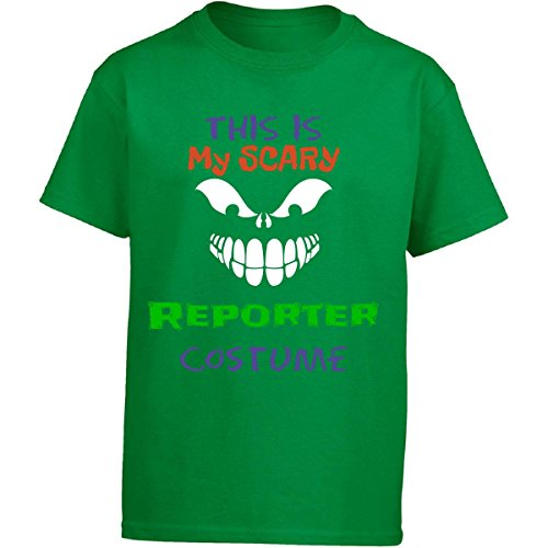 This Is My Scary Reporter Halloween Costume - Girl Kids T-shirt