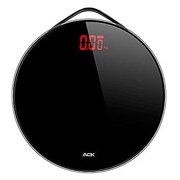 Zhrui Básculas de pesaje Persona Pesaje Peso Persona electrónica profesional Básculas negras precisas Balanzas inteligentes precisas: Amazon.es: Hogar