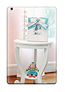 Evelyn Alas Elder's Shop Hot New White Side Table And Lamp In Girl8217s Pink Nursery Tpu Case Cover, Anti-scratch Phone Case For Ipad Mini