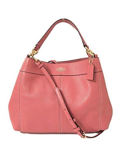 Pink Coach Handbag - 3