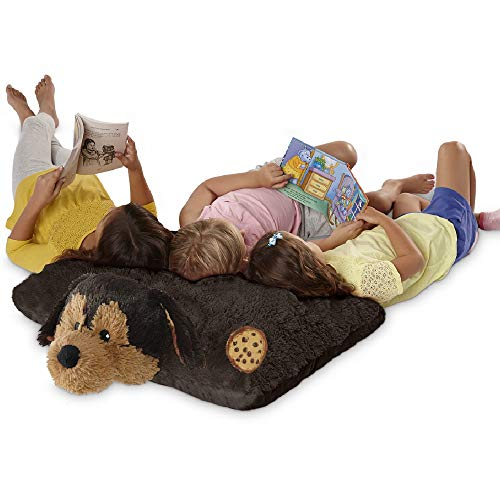 Pillow Pets Sweet Scented Jumboz, Cookie Pup, 30