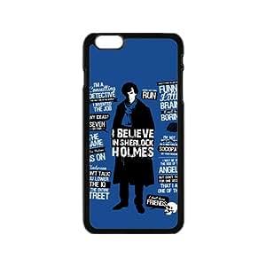 Sherlock Holmes Black iPhone plus 6 case