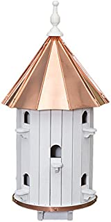product image for 10 Hole Bird House High roof Copper top XLarge 31 inches Tall Amish Made in USA