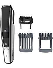 Philips Norelco Beard Trimmer Series 5000, BT5511/49, electric, cordless, one pass beard and stubble trimmer with washable feature for easy clean