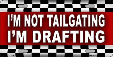 Smart Blonde Not Tailgating Drafting Metal Novelty for sale  Delivered anywhere in USA