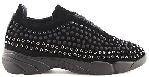 Mujer Shine Black Zapato Baby Sneakers 3 Shine Espárragos PINKO New Z99 Giglio qpxRzt7w