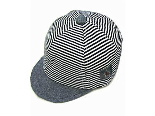 154566d6a27 Casquette enfant Cute Baby Star Strip Casquette de baseball Sun Hat Summer Anti  UV Cap pour 3-12 Mois (Noir) Chapeaux de bébé  Amazon.fr  Bébés   ...