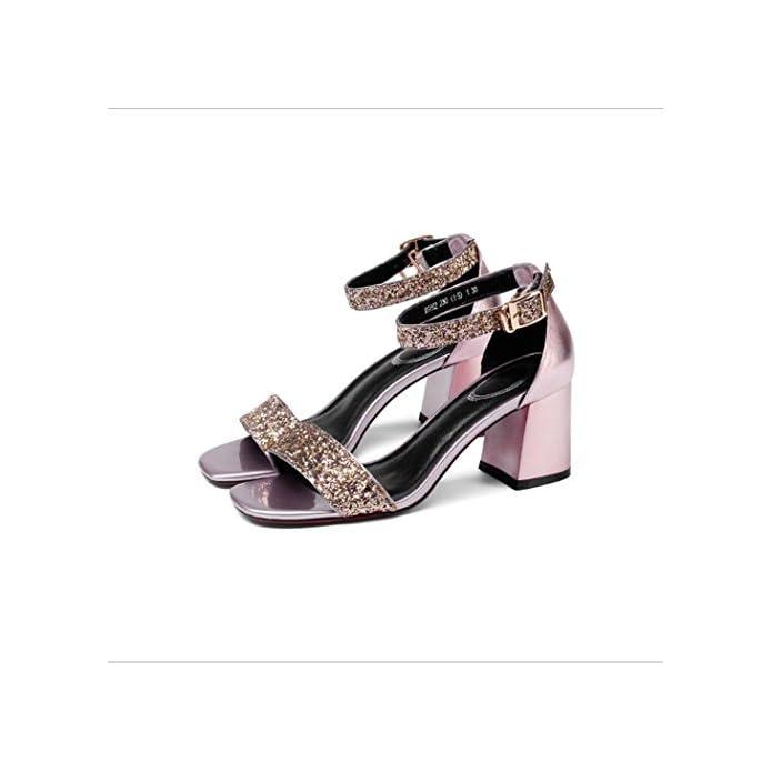 Donna Da Caviglia Pelle Mary Laccetti Jane Speciale Alla Sandali Medio Tacco Zzzjr Cinturino Sandalo In Aperto Con Tessuto