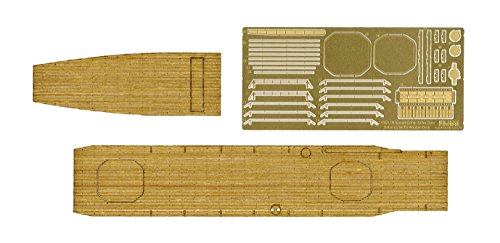 - Fujimi 1/700 Grade Up Parts Series No.107 Japanese Navy Aircraft Carrier Zuiho private wood deck seal(Japan imports)