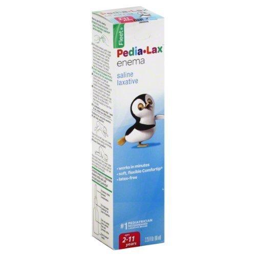Pedia-lax Fleet Enema Children 2.25oz (Pack 4) by Pedia-Lax -  Pedia Lax