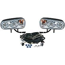 Snowplow Dual Beam Halogen Headlamp Light Kit for Western Boss Meyer Fisher Blizzard Curtis