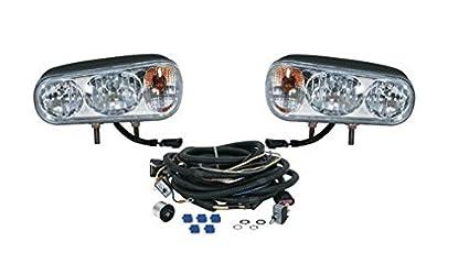Amazon Com Snowplow Dual Beam Halogen Headlamp Light Kit For
