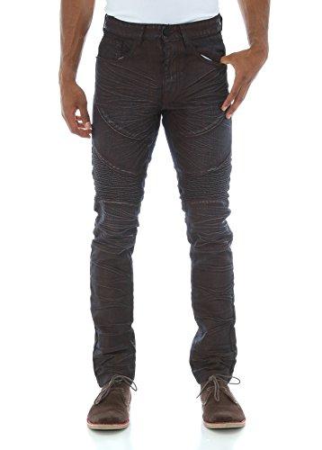 smoke-rise-mens-crinkle-waxed-moto-biker-denim-jeans-burgundy-30-30