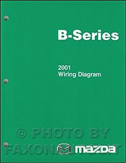 2001 mazda b series pickup truck wiring diagram manual original rh amazon com 1999 Mazda B2500 1998 Mazda B2500