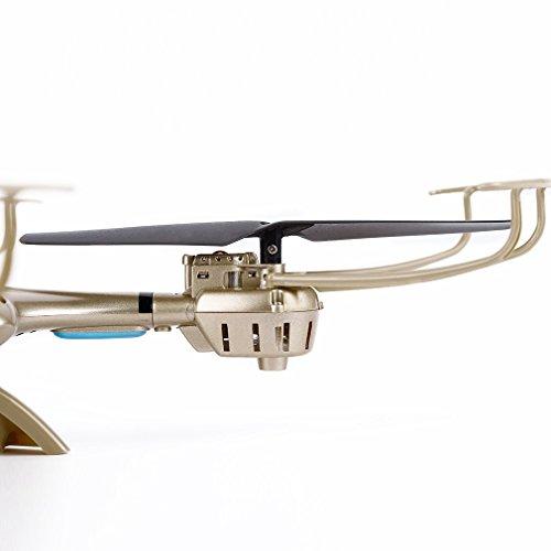 Juweishangmao 2.4GHz 4CH FPV WiFi 6 Axis Gyro Drone 0.3MP Camera Suitable with MJX X401H-Golden by Juweishangmao (Image #7)