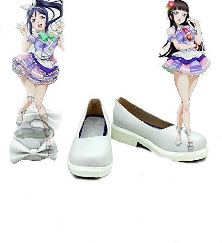 Lovelive!Sunshine!! kanan Matsuura Cosplay Shoes Boots Custom Made 3Ed1aDnAo