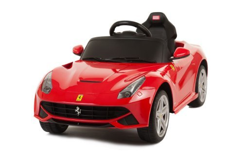 LICENSED BY FERRARI NEW 2014 MODEL RIDE ON TOY CAR WITH REMOTE CONTOL 6V Kids Red Ferrari F12