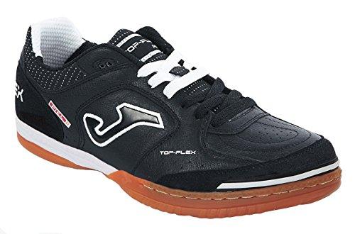 Joma Top Flex 301 Hallenschuhe Futsalschuhe Leder schwarz-weiß NEU 40