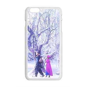 Happy Frozen Princess Anna and Kristoff Cell Phone Case for Iphone 6 Plus