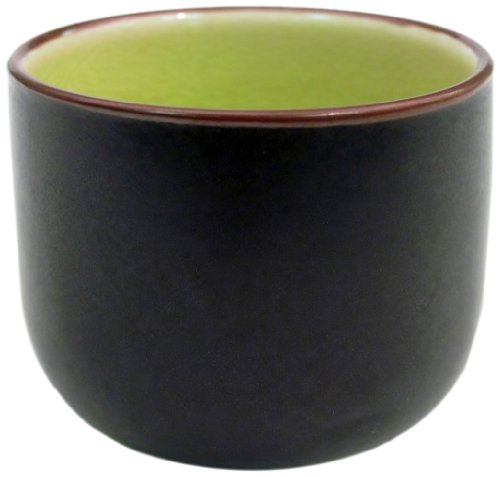 CAC China 666-WC-G Japanese Style 2-Inch Golden Green Sake Cup, 1.5-Ounce, Box of 72 by CAC China