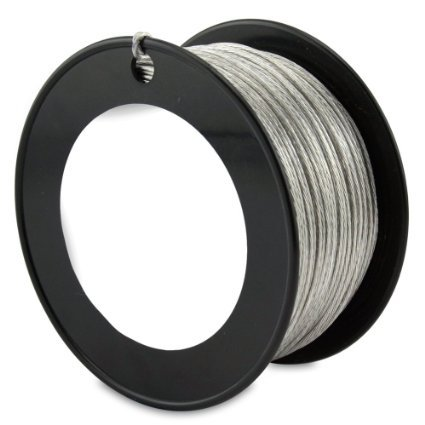 United Mfrs. Supplies SoftStrand Stainless Steel Picture Wire #4 35lb.