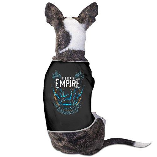 Funny Roman Reigns Wrestler Logo Pet Dog T Shirt.