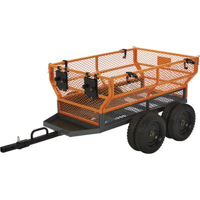 Bannon Utility Trailer - 1600-Lb. Capacity, 24 Cu. Ft. by Bannon
