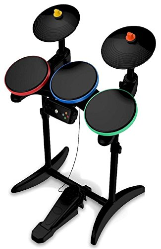 Guitar Hero 6 Warriors of Rock Wireless Drums for Xbox (Wireless Guitar Drums)