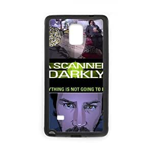 ANCASE Custom Color Printing A Scanner Darkly Phone Case For Samsung Galaxy note 4 [Pattern-1]