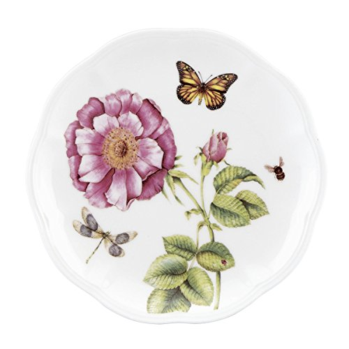 - Lenox 829035 Butterfly Meadow Bloom Accent Plate
