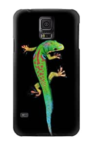 S0125 Green Madagascan Gecko Case Cover for Samsung Galaxy S5