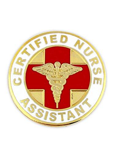 Certified Nurse Assistant CNA Lapel Pin, 10 Pack