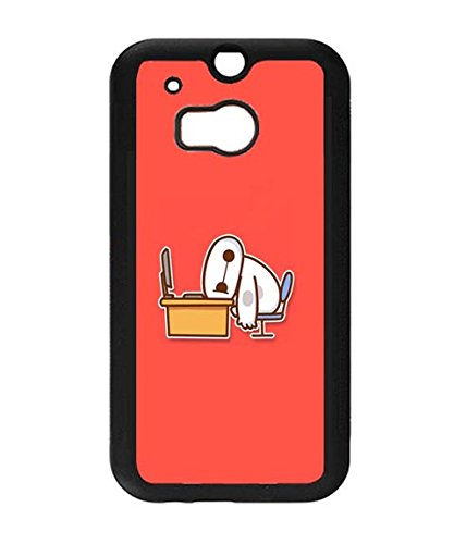 Big Hero 6 Baymax HTC One M8 Case, Animation Theme Printed Scratch-proof Hard Case Cover