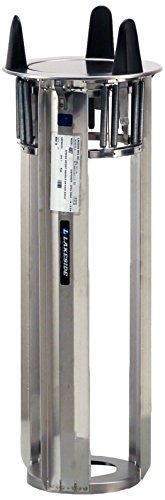 Lakeside 4007 Drop-in Plate Dispenser, Open Model, Accommodates Plates 6-5/8