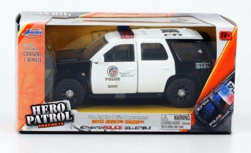 2010 Chevrolet Tahoe LAPD Los Angeles Police Department 1/32 by Jada 96340 (Best Chevy Tahoe Model)