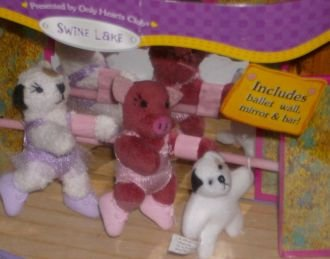 So Small Pets Swine Lake Mini Stuffed Animal Set with Pig & - Pets Club Only Hearts