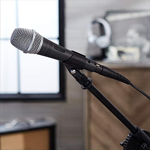 Amazon Basics Dynamic Vocal Microphone - Super Cardioid
